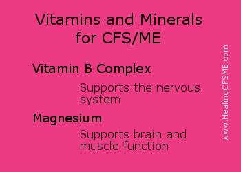 CFS natural healing supplements