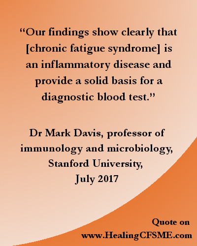 Doctor's quote about CFS