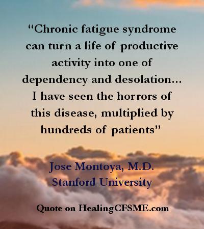 Chronic fatigue syndrome dating