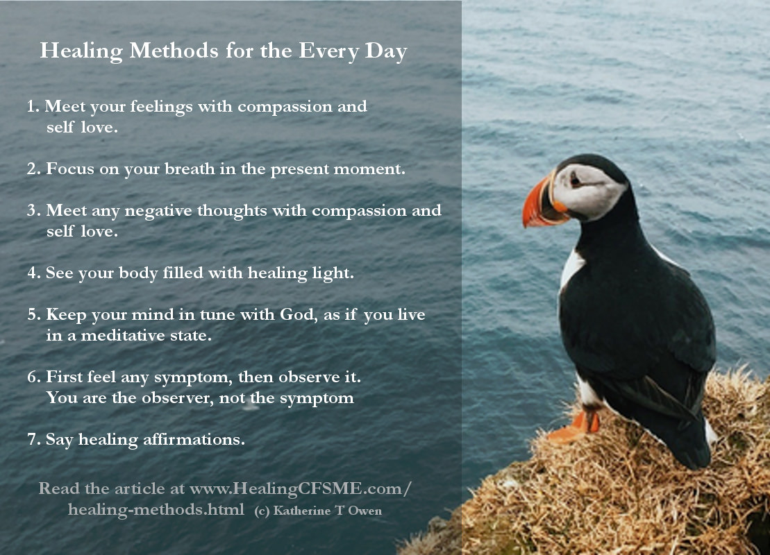 Healing methods - simple and free