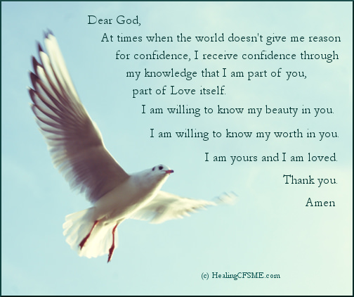 prayer for confidence