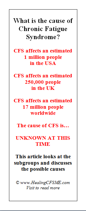 how many have illness CFS