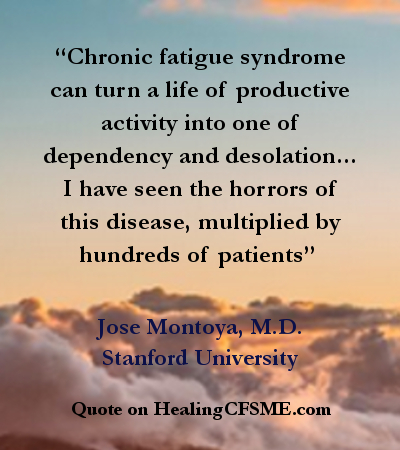 Quotes about Chronic Fatigue Syndrome