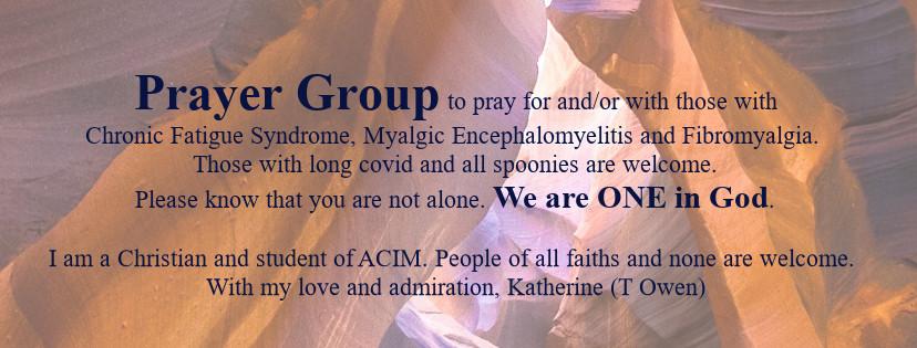 prayer for chronic fatigue syndrome - invitation