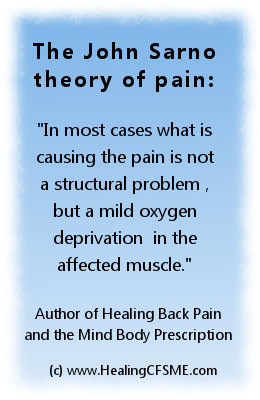 theory of the cause of pain